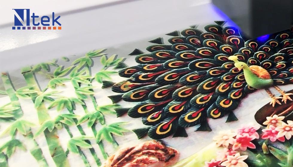 Ntek Printer Sample - peacock